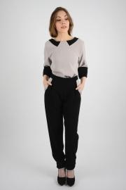 ensemble_blouse_pantalon_beige_noir_louise_religieux