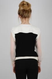 sweat_shirt_noir_blanc_mousseline_louise_religieux