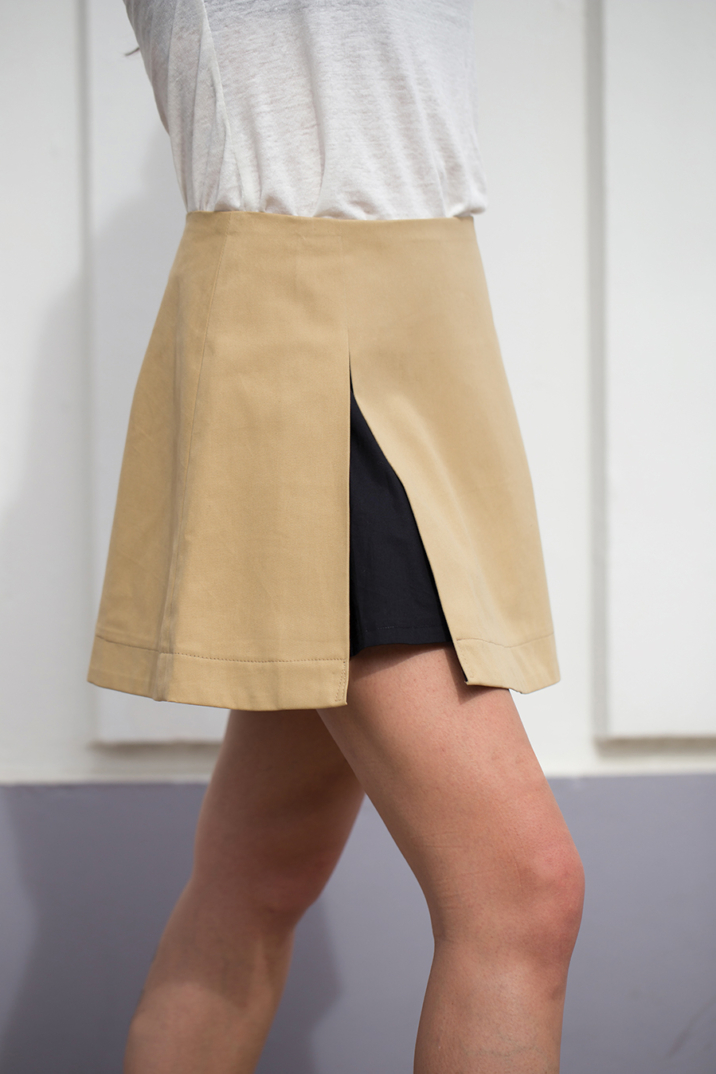 trapeze jupe coton louisereligieux madeinfrance